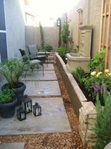 Garden with furniture 003